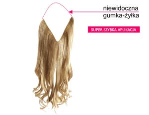 włosy na żyłce